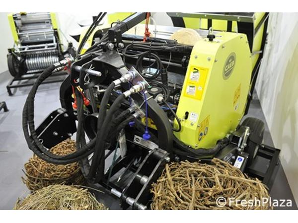 Створена машина для прибирання рослинних залишків у садах Рис.3