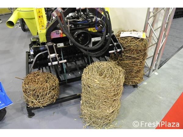 Створена машина для прибирання рослинних залишків у садах Рис.4