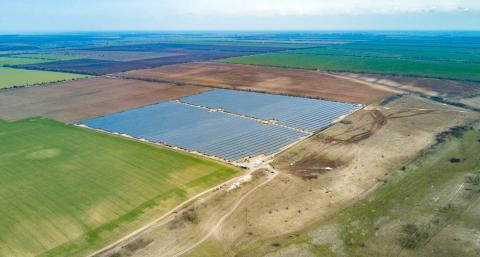 Канадці побудували в Миколаївській області сонячну електростанцію Рис.1