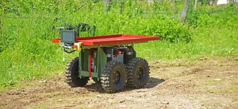 Робот-помічник Burro прискорює збір врожаю на 20-30% Рис.1