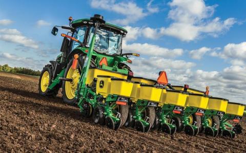 В Україні завершується сівба ярих зернових та зернобобових культур Рис.1