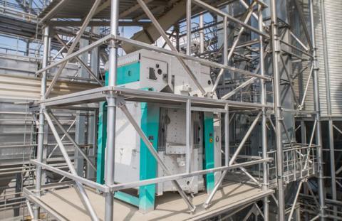 Термінал MV Cargo поповнився обладнанням для очищення і сортування зерна Рис.1