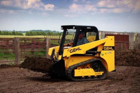 Gehl випустив новий гусеничний міні-навантажувач Рис.1