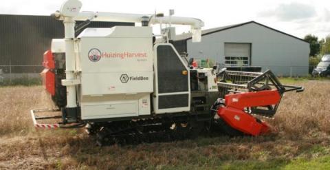 В Нідерландах створили автономний комбайн для збирання рису Рис.1