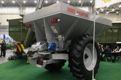 Завод Кобзаренка презентував оновлений розкидач мінеральних добрив Рис.1