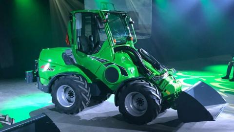 Avant представив новий навантажувач 735 Рис.1