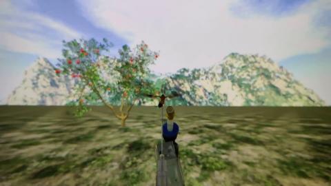 Комахи по запаху знайшли яблуню у віртуальній реальності Рис.1