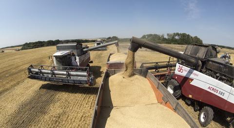 Урожай-2018: Аграрії зібрали майже 47 млн тонн зерна Рис.1