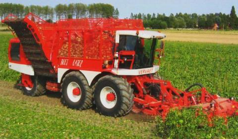 В 7 областях України почали збирати цукрові буряки Рис.1