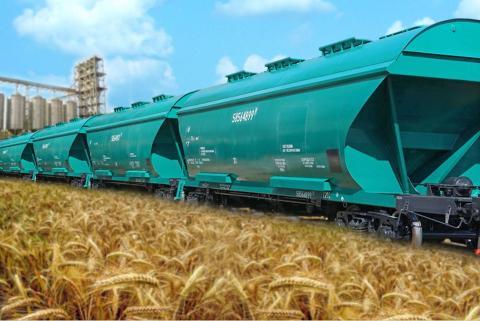 Зернові витісняють гірничників з ринку ЖД перевезень Рис.1