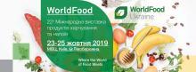 22a Міжнародна виставка продуктів харчування та напоїв Рис.1